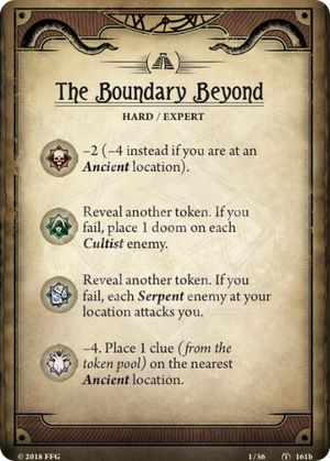The Boundary Beyond