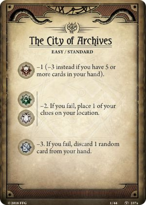 The City of Archives