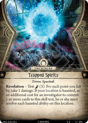 Trapped Spirits