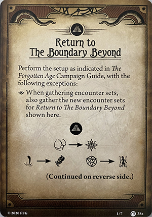 Return to The Boundary Beyond